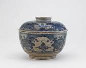 view Serving bowl with cover, Arita ware digital asset number 1