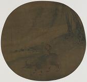 view Boy on a water buffalo digital asset number 1