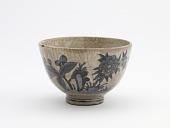 view Tea bowl with design of a garden, Arita ware digital asset number 1