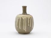 view Commercial bottle for medicinal wine, Tamba ware digital asset number 1