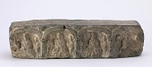 view Plinth with four repeat images of Buddhist triads digital asset number 1