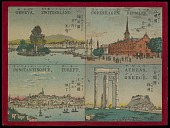 """view """"Copenhagen Denmark, Athens Greece, Geneva Switzerland, Constaninople, Turkey"""" from """"Famous Places in All Nations"""" digital asset number 1"""