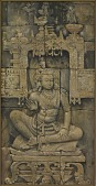 view Seated Buddha, from the Monument of Borobudur, Java digital asset number 1