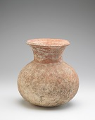 view Vessel with round base and overall paddle-impressed texture digital asset number 1