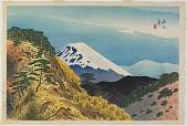 view Mt. Fuji from Near Numazu digital asset number 1