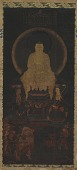 view The Buddha Shakyamuni with the bodhisattvas Samantabhadra and Manjushri digital asset number 1