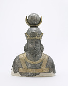 view Silver bust of a royal male figure digital asset number 1