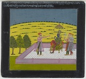 view Krishna receives a Devotee, folio from a Satsai of Biharilal digital asset number 1