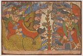 view Babhruvahana fights the king of the Nagas, from a Mahabharata digital asset number 1