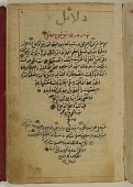 view <em>Dala'il al-khayrat</em> (Guide to good deeds) digital asset number 1