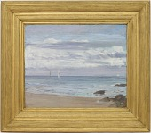 view Blue and Silver: Trouville digital asset number 1