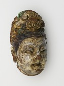 view Head of a deity digital asset number 1