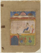 view Chanda in her palace, from a Laur-Chanda manuscript digital asset number 1