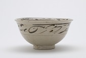 view Bowl with design of floral spray digital asset number 1
