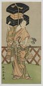 view Kabuki Actor Nakamura Noshio as a Fan Vendor digital asset number 1