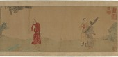 view Emperor Shi Le Reverencing a Buddhist Monk digital asset number 1