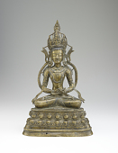 view Figure of a seated bodhisattva digital asset number 1