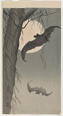 view Bats and full moon digital asset number 1