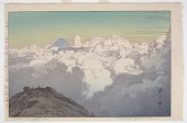 view From the Summit of Komagatake, from the series The Southern Japan Alps digital asset number 1