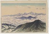 view Distant View of Mt. Tateyama from Mt. Hakuba digital asset number 1