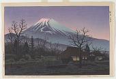 view Sunset Glow On Mt. Fuji digital asset number 1