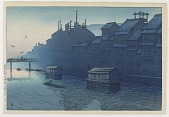 view Morning in Dotonbori, Osaka, from the series Souvenirs of Travels, Second Collection digital asset number 1