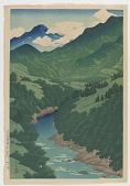 view Somegawa river, Kōshū, from the series Souvenirs of Travels, Second Collection digital asset number 1