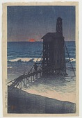 view Setting sun (Gomoto, Echigo) digital asset number 1