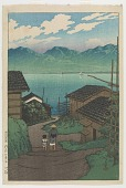 view Kamo village, Sado, from the series Souvenirs of Travels, Second Collection digital asset number 1