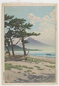 view Pine beach at Miho, from the series Selection of views of the Tokaido digital asset number 1
