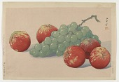 view Grapes and apples digital asset number 1