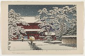 view Snow at Zojo temple digital asset number 1