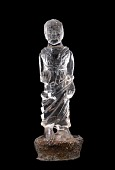 view Statuette of a standing woman dressed in chiton and peplos digital asset number 1
