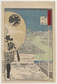 view Fukagawa Kiba, from the series One Hundred Views of Musashi digital asset number 1