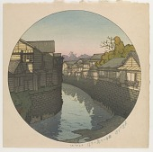view Afternoon at Nino Bridge, Azabu, from the series Twelve Months of Tokyo digital asset number 1