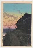 view Sunset at Morigasaki digital asset number 1