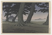 view Teranohama, Sanuki coast, from the series Collection of scenic views of Japan II, Kansai edition digital asset number 1
