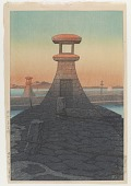 view Tadotsu, Sanshu, from the series Collection of scenic views of Japan II, Kansai edition digital asset number 1