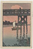 view Bridge with sailboat digital asset number 1