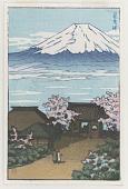 view Mount Fuji in spring digital asset number 1