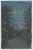 view Village in moonlight digital asset number 1