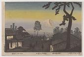 view Mount Fuji from Abekawa digital asset number 1