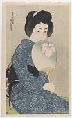 view Summer Kimono, from the series Twelve Figures of Modern Beauties digital asset number 1
