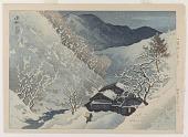 view Twilight on Snow, Komoro digital asset number 1