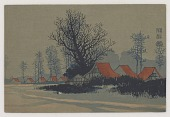 view Trees and dwellings digital asset number 1