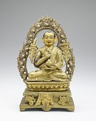 view Tsong Khapa on Lion Throne digital asset number 1