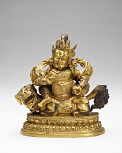 view Vaishravana on a Snow Lion digital asset number 1