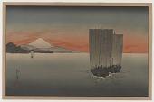 view Mt. Fuji From Suruga Bay, Sunset digital asset number 1