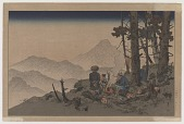 view Woodcutters In Deep Mountains digital asset number 1