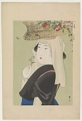 view Flower peddler from Ohara, from the series Customs of Women Today digital asset number 1